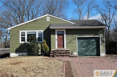 Piscataway Single Family Home For Sale: 609 Fairview Avenue