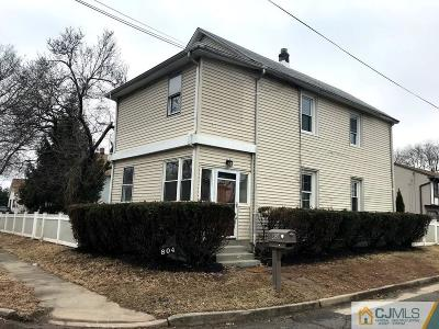Piscataway Single Family Home For Sale: 804 Center Street