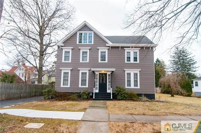 Metuchen Single Family Home For Sale: 64 Home Street