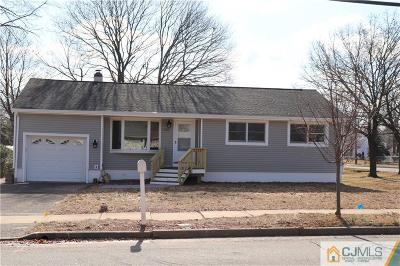 Piscataway Single Family Home For Sale: 602 Plainfield Avenue