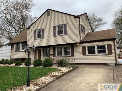 Edison Single Family Home For Sale: 18 Hill Road