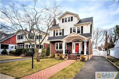 Metuchen Single Family Home For Sale: 6 Juniper Street