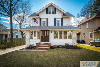 Metuchen Single Family Home For Sale: 77 Rector Street