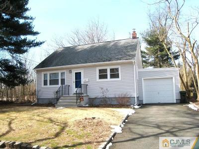 South Plainfield Single Family Home Active - Atty Revu: 132 Martin Drive