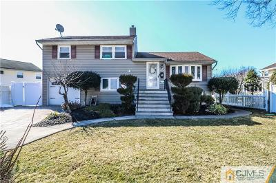 Colonia Single Family Home For Sale: 251 Amherst Avenue