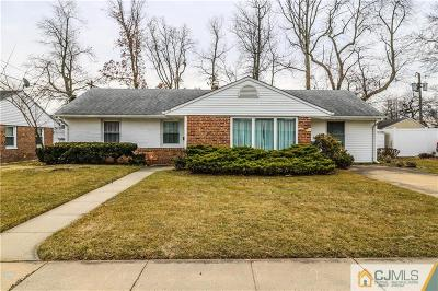 Edison Single Family Home For Sale: 38 Gurley Road