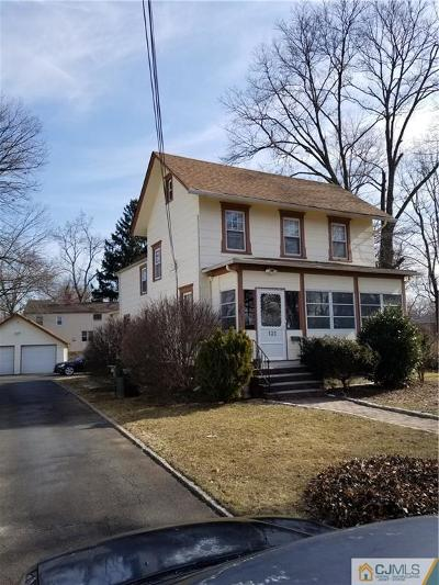 Somerset County Single Family Home For Sale: 120 Leland Avenue