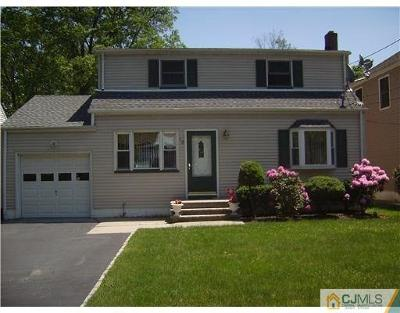 Edison Single Family Home For Sale: 15 Monmouth Avenue