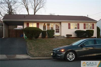 Old Bridge NJ Single Family Home For Sale: $244,500