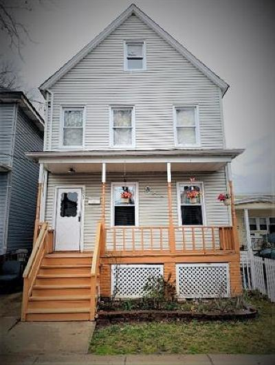 Perth Amboy Single Family Home For Sale: 653 Johnstone Street