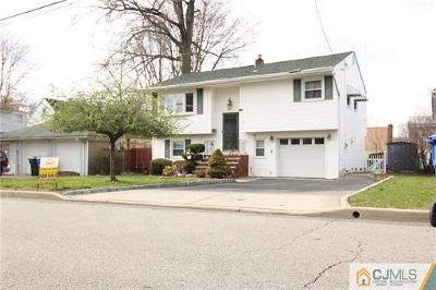 Fords Single Family Home For Sale: 11 Highland Terrace