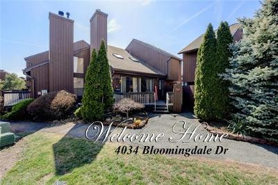 Somerset County Condo/Townhouse For Sale: 4034 Bloomingdale Drive