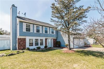 Edison Single Family Home For Sale: 33 E Wintergreen Avenue