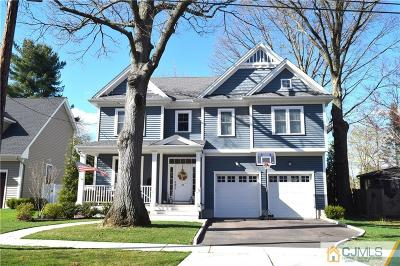 Metuchen Single Family Home For Sale: 25 E Cedar Street