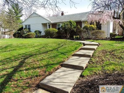 Metuchen Single Family Home For Sale: 181 Christol Street