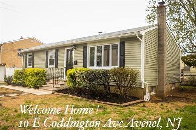 Avenel Single Family Home For Sale: 10 E Coddington Avenue