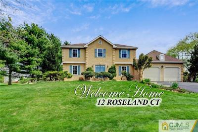 West Windsor Single Family Home For Sale: 12 Roseland Court