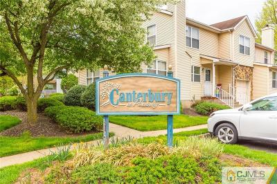 Piscataway Condo/Townhouse For Sale: 8 Chelsea Drive #8