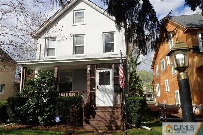 Metuchen Single Family Home For Sale: 55 Grove Avenue