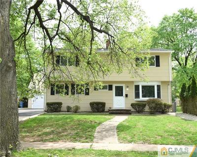 Metuchen Single Family Home For Sale: 54 Willow Road