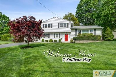 Single Family Home For Sale: 7 Sullivan Way