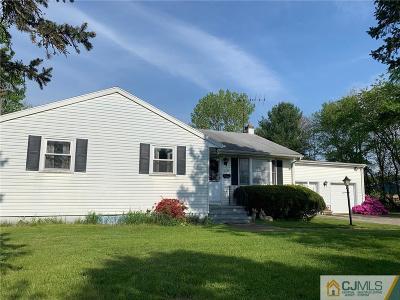 Monroe Single Family Home For Sale: 1399 Perrineville
