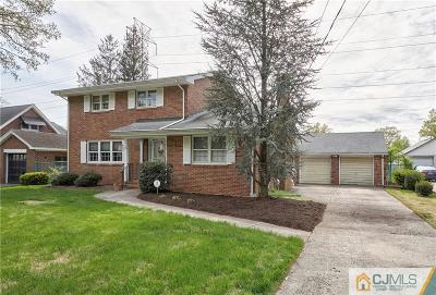 Sayreville Single Family Home For Sale: 21 N Edward Street