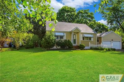 East Brunswick Single Family Home For Sale: 878 Old Bridge Turnpike