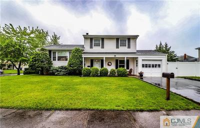 Iselin Single Family Home For Sale: 167 Winding Road