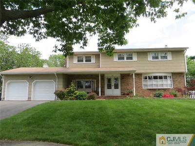 Piscataway Single Family Home For Sale: 123 Coventry Circle