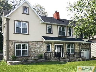 Metuchen Single Family Home Under Contract Cont to Show: 11 Electric Street