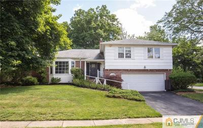 Edison Single Family Home For Sale: 1 Manor Court