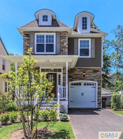 Metuchen Single Family Home Under Contract Cont to Show: 21 School Street