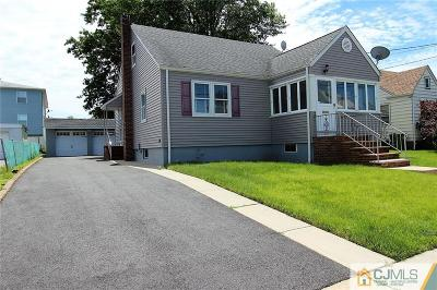 Linden Single Family Home For Sale: 1822 Essex Avenue