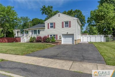 South Plainfield Single Family Home For Sale: 3205 Beverly Road