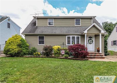 Sayreville Single Family Home For Sale: 37 Kenneth Avenue
