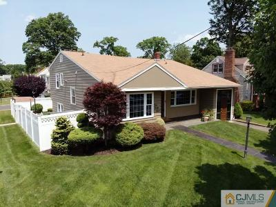 ROSELLE PARK Single Family Home For Sale: 449 Madison Avenue