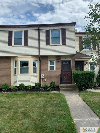 Sayreville Condo/Townhouse For Sale: 39 Tiger Lilly Court
