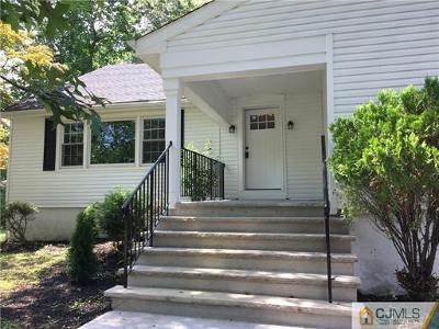 Edison Single Family Home For Sale: 39 Dale Drive