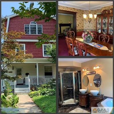 Perth Amboy Single Family Home For Sale: 126 High Street