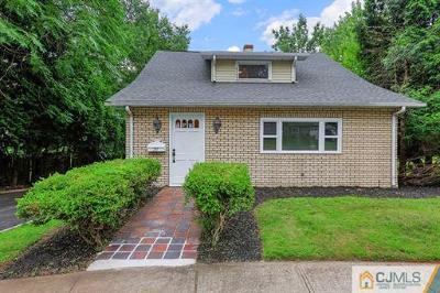 South Plainfield Single Family Home For Sale: 711 Sampton Avenue