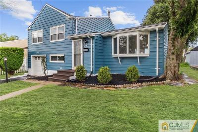 Sayreville Single Family Home For Sale: 24 Frederick Place