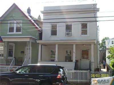 Perth Amboy Multi Family Home For Sale: 751 Cortlandt Street