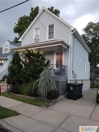 Perth Amboy Single Family Home For Sale: 320 Summit Avenue