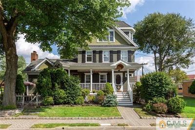 South Plainfield Single Family Home For Sale: 208 Randolph Avenue