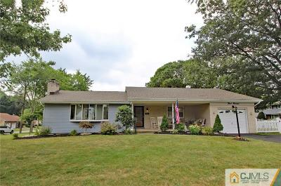 South Plainfield Single Family Home For Sale: 300 Rahway Avenue
