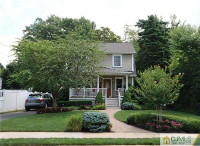 Metuchen Single Family Home For Sale: 48 Kempson Place