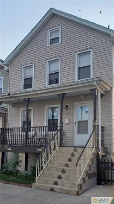 Perth Amboy Single Family Home For Sale: 483 Miller Street