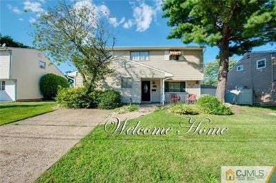 Perth Amboy Single Family Home For Sale: 774 Stephen Avenue