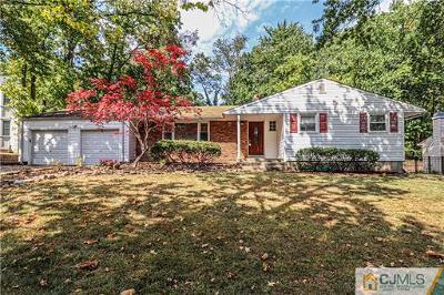 Edison Single Family Home For Sale: 46 Oliver Avenue